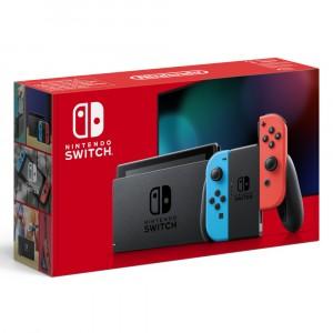 Consola Nintendo Switch Hw Blava/Vermella Neon