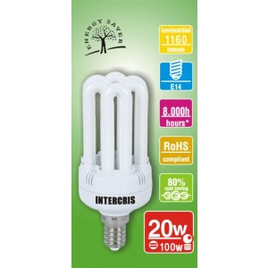 Bombeta Baix Cons. Intercris 20w 8000h(014)