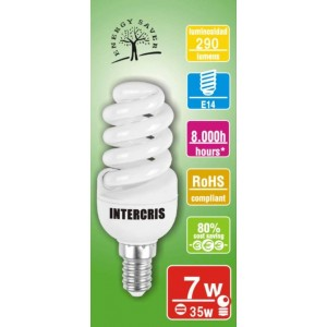 Bombeta Baix Cons. Intercris 7w 8000h(020)