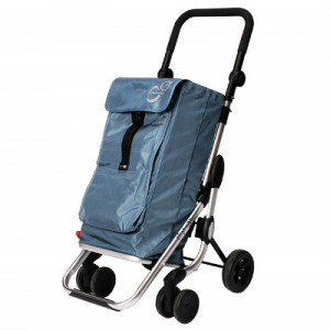 Carro Compra Play Plegable Go Up Blau Cel
