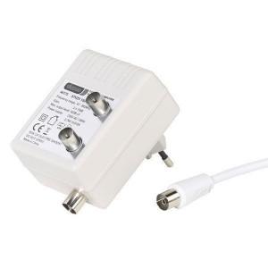 Amplificador Antena Vivanco 2x1 15db Blanc