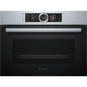Forn Bosch Csg636bs3 Independent Multifuncio Compacte Vapor Negre/Inox