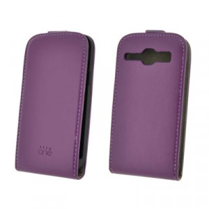 Funda 4-Ok Flip One Samsung Galaxy Core Lila