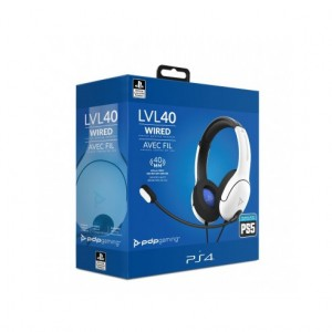 Auricular Gaming Pdp S5 Pdalv40wb Per Ps4/Ps5