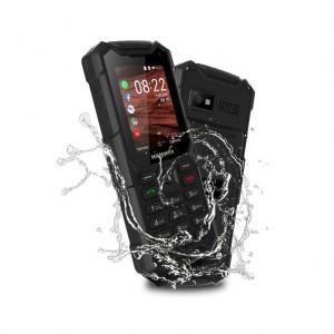 "Mobil Hammer 5 2,4"" 4g 4gb 2mp Kaios Dual Sim Black Rugeritzat"