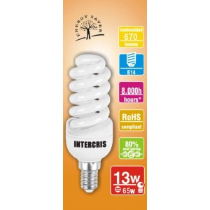 Bombeta Baix Cons. Intercris 13w 8000h(031)