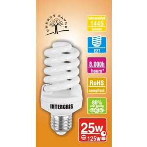 Bombeta Baix Cons. Intercris 25w 8000h(039)