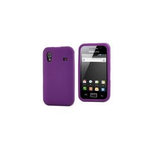Funda Silicona Lila Samsung Galaxy Ace (S5830) Mu