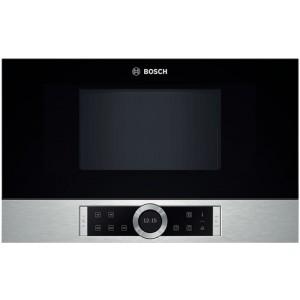 Microones S/Grill 21l Bosch Bfr634gs1 Neg/Inox Int