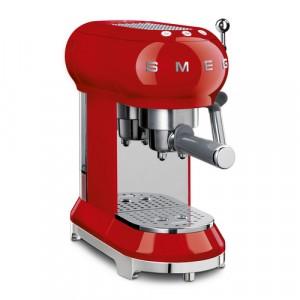 Cafetera Express Smeg Ecf01rdeu Vermella