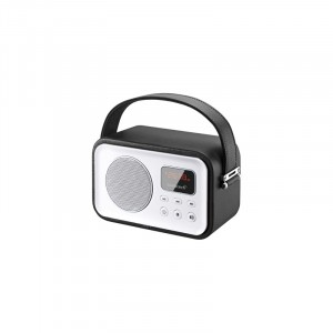 Radio Portatil Sunstech Rpbt450bk Retro Negre