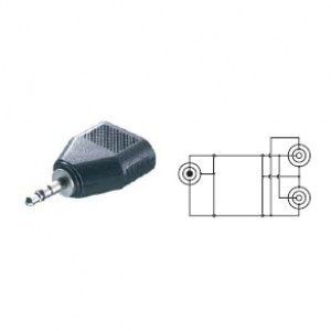 Adaptador Vivanco 5/21n Jack 3.5 A (41064)