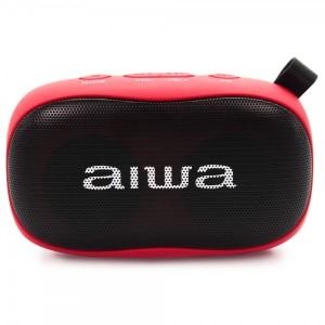 Altaveu Portatil Aiwa Bs-110rd Bluetooth Vermell