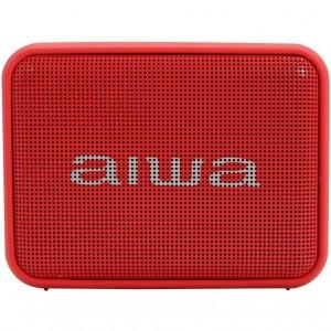 Altaveu Portatil Aiwa Bs-200rd Bluetooth Vermell