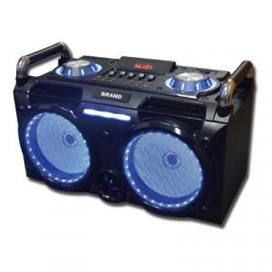 Mini Cadena Portatil Sakkyo Dj630 Bateria Recarregable 300w Karaoke