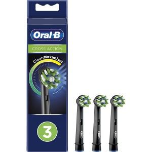 Recanvi Raspall Dental Braun Eb50-3 Cross Action Black  (3 Unitats)
