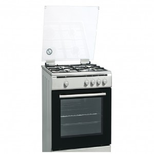 Cuina Gas Hyundai Hyco648bex 4f 60cm Inox But Forn Electric