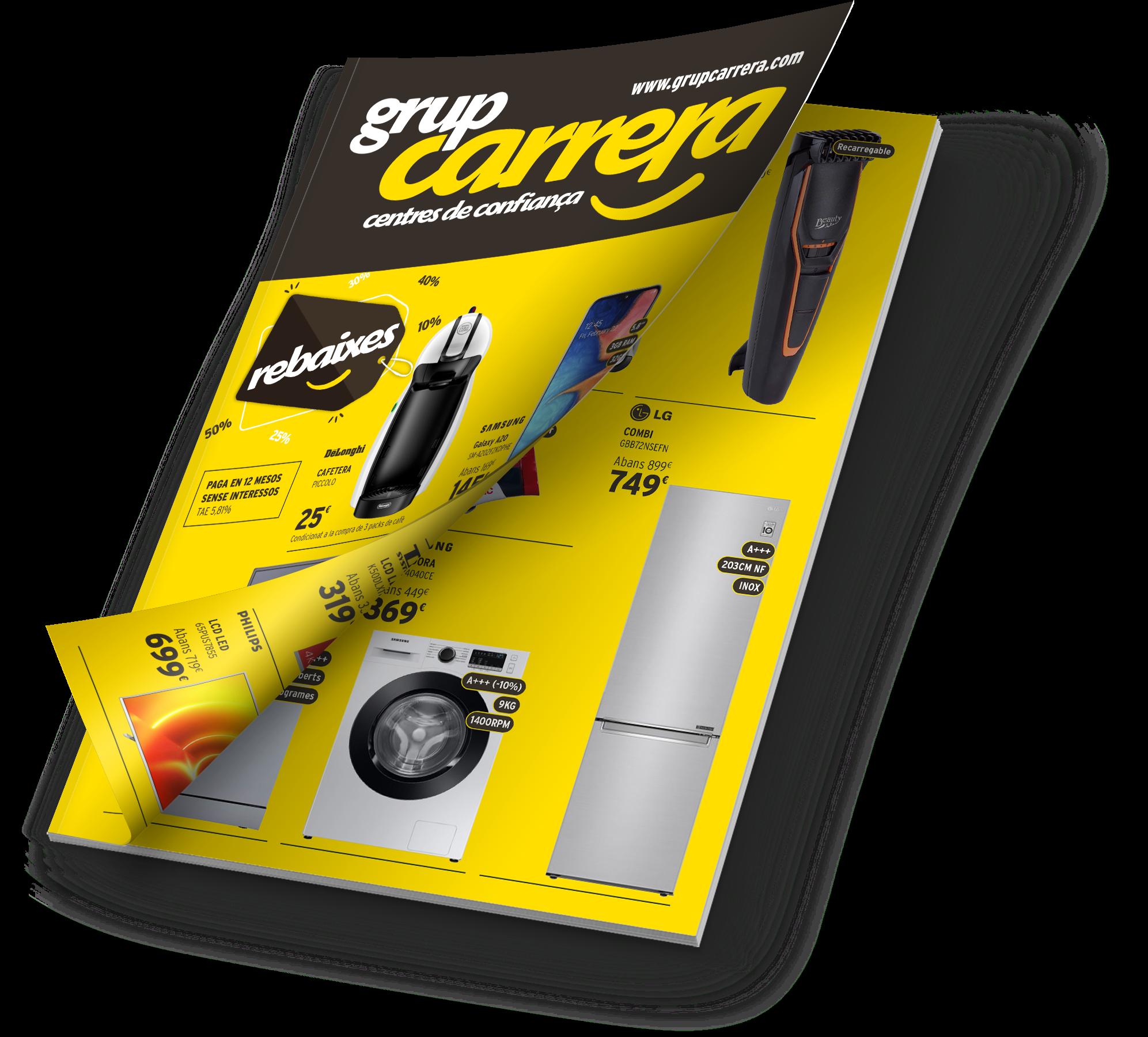 Catàleg Rebaixes 2021 - Grup Carrera