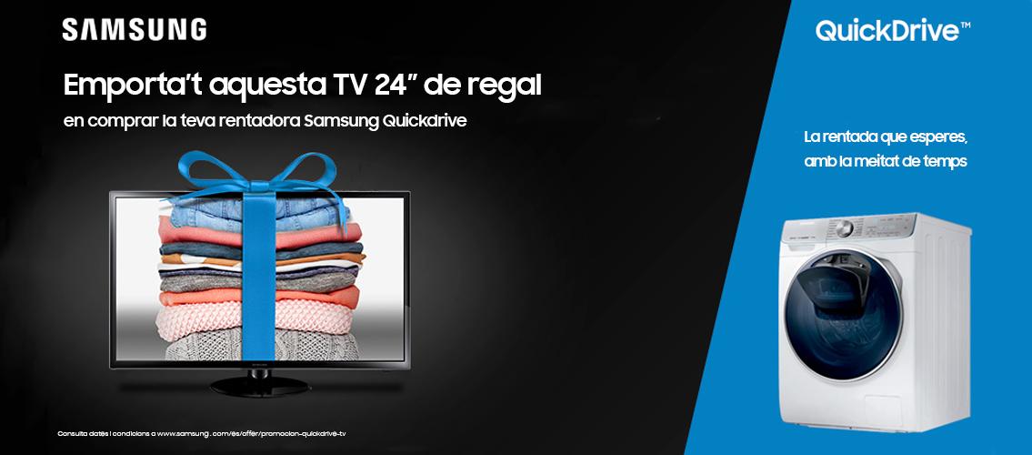 Emporta't un televisor de 24