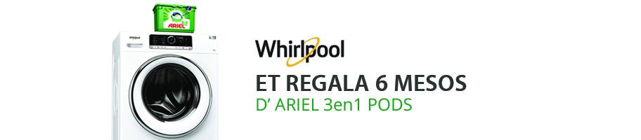 Promoció Whirlpool Ariel