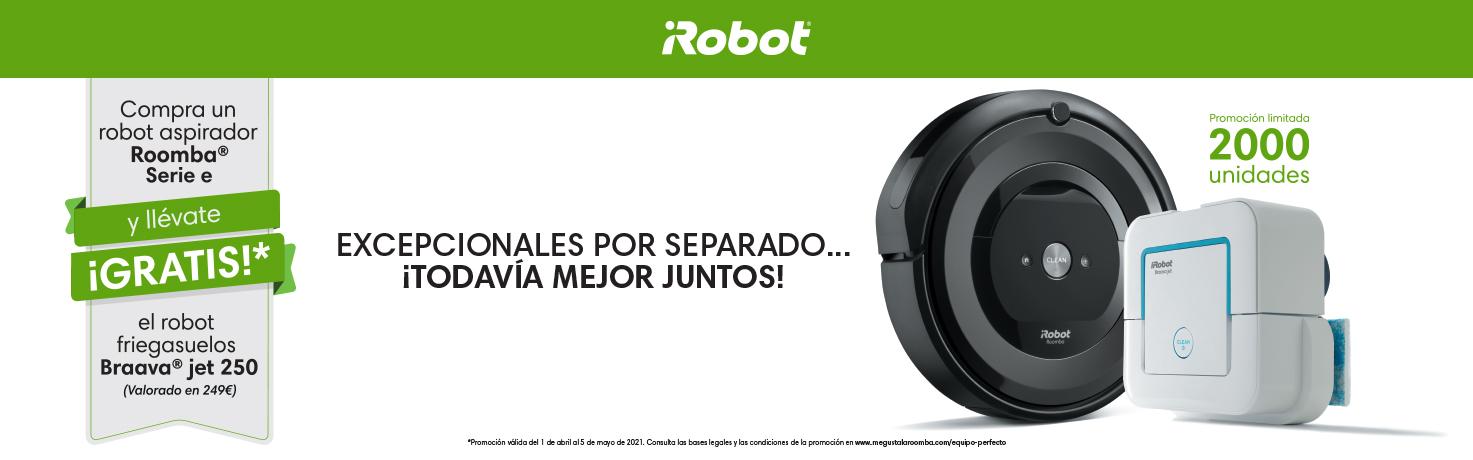 Promoció iRobot