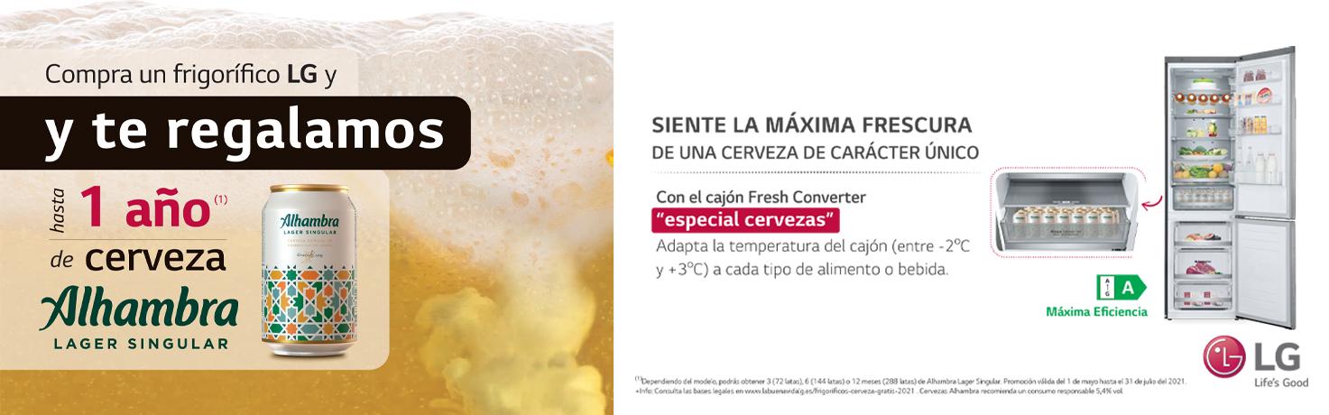 Promoció Lg Cervesa
