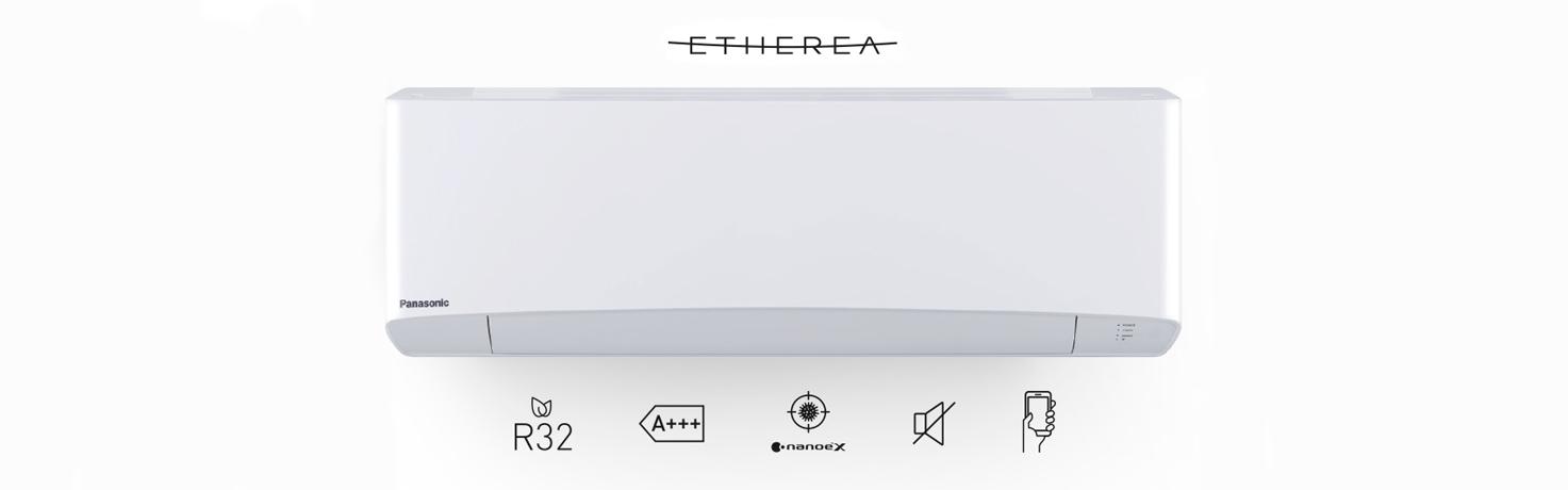 Promoció Aires Condicionats Etherea Panasonic