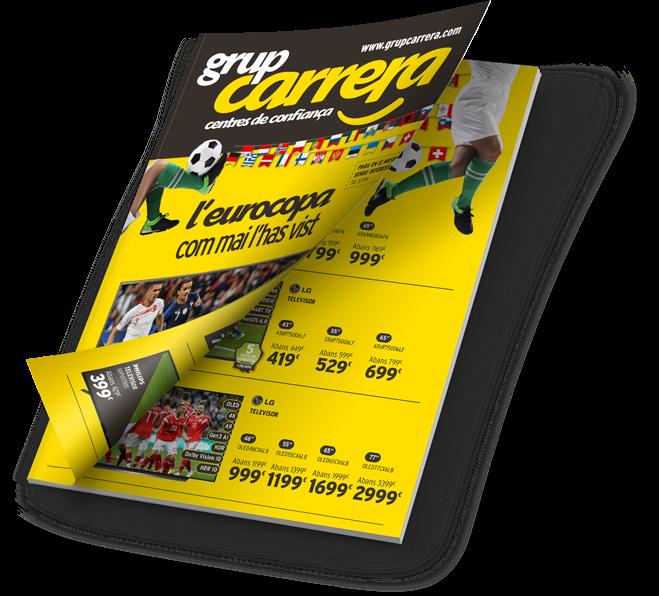 Catàleg Eurocopa 2021 - Grup Carrera