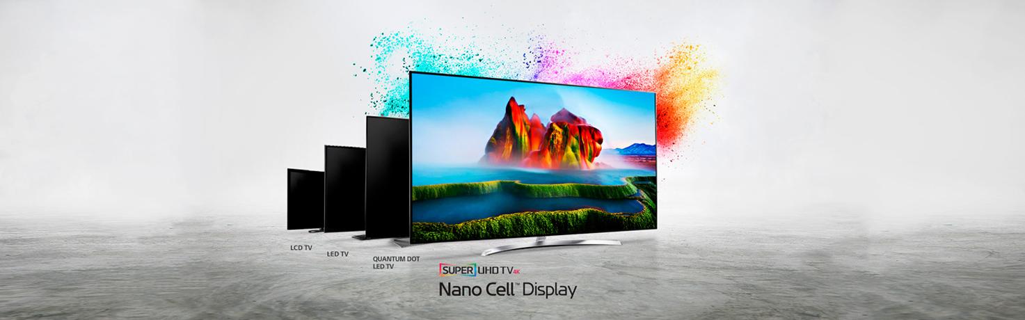 Viu l'experiència audiovisual més completa amb LG NanoCell!