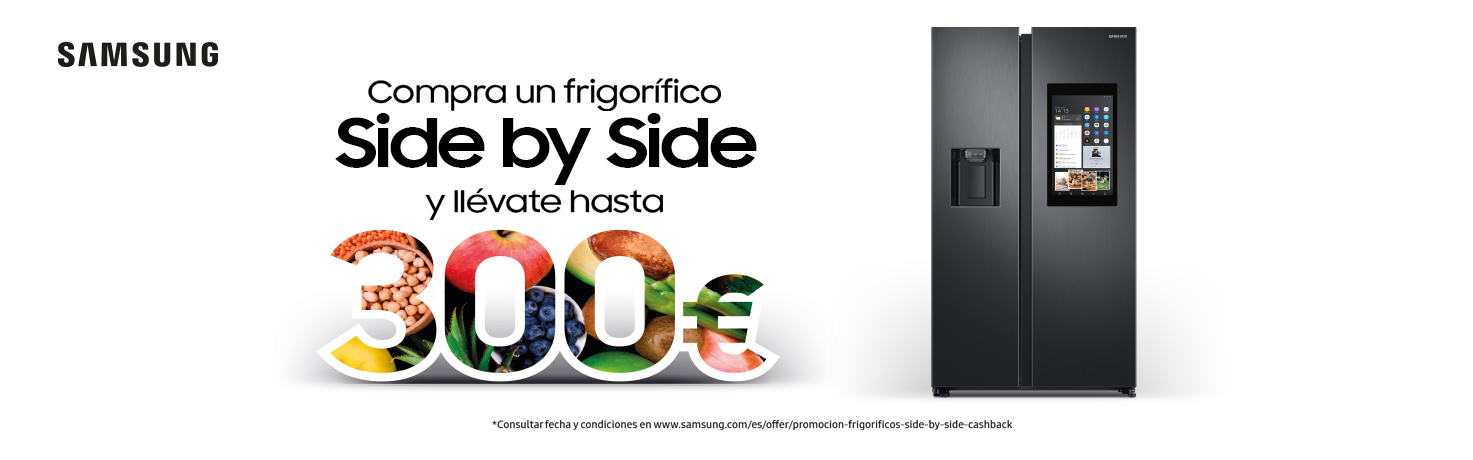 Promoció Samsung Side by Side