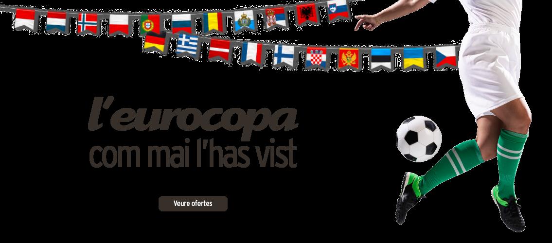 L'eurocopa com mai l'has vist